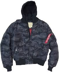 alpha industries black friday industries ma 1 dtec hooded jacket black camo