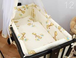 Swinging Crib Bedding Cotton 5 Crib Baby Bedding Set 90x40 Fits Rocking Cradle Ebay