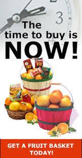 sending fruit the best times to buy fruit baskets from florida orange ring