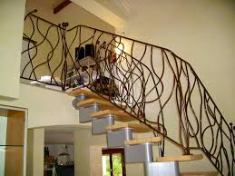 Fer Forge Stairs Design Iron Art Work