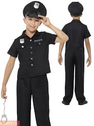 boys police costume ebay