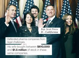 Blind Trust California Many In Congress Invest In Companies They U0027ll Affect With Votes