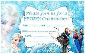 frozen invitation template plus printable invitation templates
