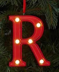 st nicholas square marquee letter r in lights