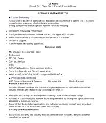 Citrix Administrator Resume Sample by 16 Free Sample Network Administrator Resumes U2013 Sample Resumes 2016