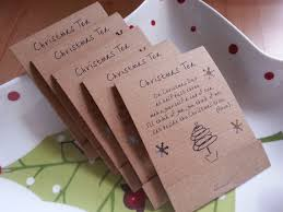 pack of five teabag greetings ideal for including in