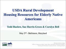 ppt usda rural development housing resources for elderly native