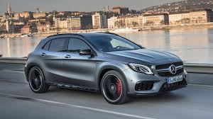 luxury mercedes 2018 mercedes amg gla45 first drive when luxury car meets hatch