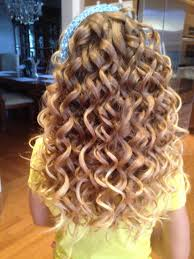 barrel curl hairpieces spiral curls done with small barrel curling wand hair heaven