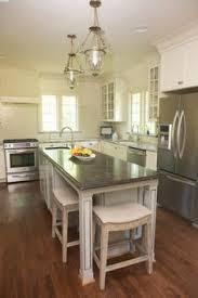 narrow kitchen island seats underneath island no overhang narrow kitchen island