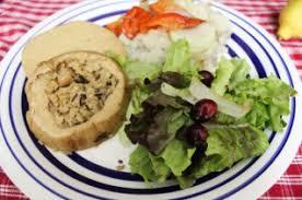 thanksgiving vegan dinner green up