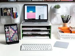 dorm desk computer desktop organizer background diy computer desk