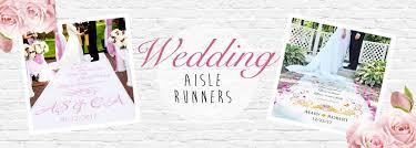 personalized wedding aisle runner wedding aisle runners personalised wedding