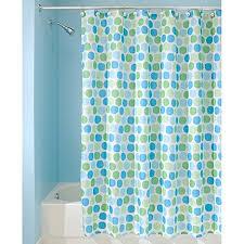 blue green curtain amazon com