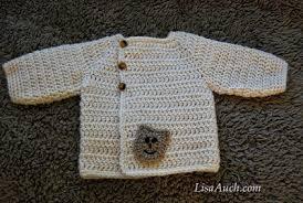 crochet baby sweater pattern free baby crochet cardigan pattern lisaauch com