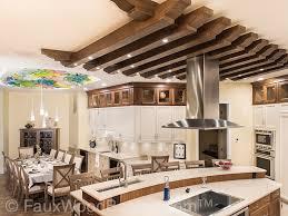 workshop designs stunning kitchen ceiling treatment faux wood workshop ceiling