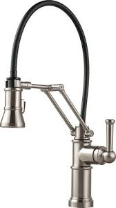 Faucet Kitchen Sink by Delta Trinsic Faucet In Champagne Bronze Kitchen By Design