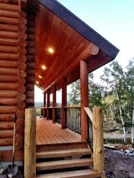Interior Of Log Homes by Uinta Log Home Builders Utah Log Cabin Kits Uinta Log Homes