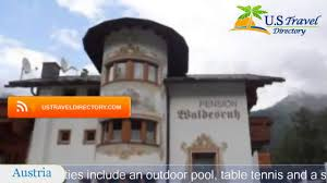 pension waldesruh sölden hotels austria youtube