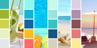summer color schemes to brighten your seasonal designs