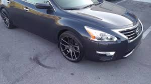 nissan altima white with black rims 877 544 8473 18 inch niche targa gunmetal wheels hellaflush