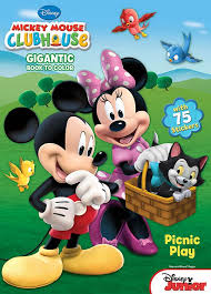 disney mickey mouse clubhouse gigantic coloring u0026 activity book