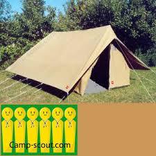 tenda jamboree scoutisme 6 places tente patrouille c scout boutique equipement