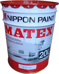 nippon matex emulsion paint 20l 2 colours exterior paints