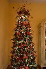 Christmas Tree Decorating Ideas With Bows by How To Decorate A Christmas Tree With Only Ribbon And Greenery