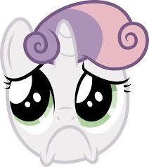 Sad Face Meme - sad face my little pony friendship is magic know your meme