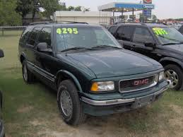 gmc jimmy 1994 1997 gmc jimmy specs and photos strongauto