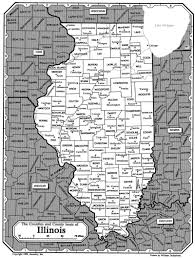 County Map Illinois by All About Genealogy And Family History Map Of Illinois