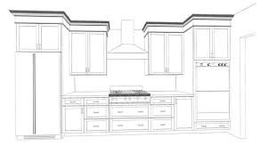 kitchen cabinets drawings monsterlune