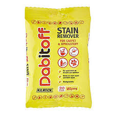 Stain Remover For Upholstery Kilrock Dabitoff Carpet U0026 Upholstery Stain Remover Wipes X20