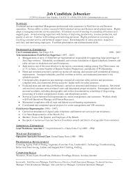 Customer Service Manager Resume Sample by Resume Sample Field Manager Free Time Good Answer Resume Qlikview