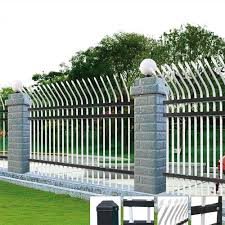 cheap security palisade curved top steel fence panels buy