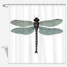 Dragonfly Shower Curtains Dragonfly Shower Curtains Cafepress