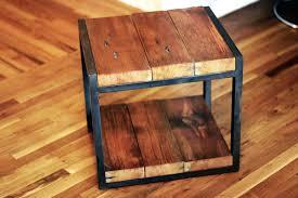 Restoring Barn Wood Reclaimed Wood Side Table Restoration Hardware Etsy Diy 964