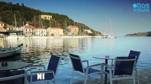 Ithaca Greece Map by Ithaca Greece Kioni Atlasvisual Youtube