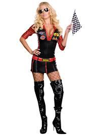 race car costumes mens womens child race car driver costumes
