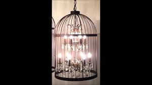lemeubles vintage bird cage chandelier youtube