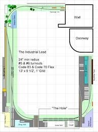 Industrial Floor Plan Track Plan U2013 Industrial Lead 13 The Industrial Lead