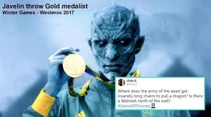 King Of The North Meme - game of thrones twitterati avenge viserion by brutally trolling the