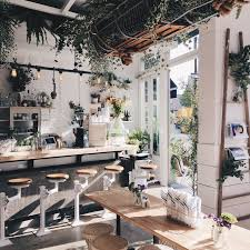 restaurant decor decorations lush green restaurant decor with wooden dining table