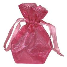 pink organza bags organza drawstring bags azurepac