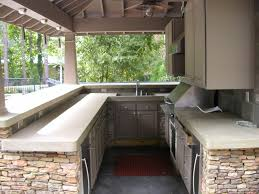 Kitchen Cabinet Components Best Kitchen Counter Material With Minimalist Outdoor Kitchen
