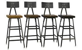 Barnwood Bar Stools Reclaimed Barn Wood Furniture Handmade By Barn Xo