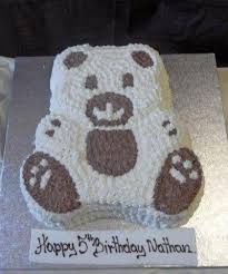 teddy bear cake thunders bakery