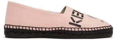 kenzo tiger sweatshirt dress kenzo pink canvas logo espadrilles