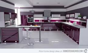 Kitchen Design Colors 15 High Gloss Kitchen Designs In Bold Color Choices Gloss